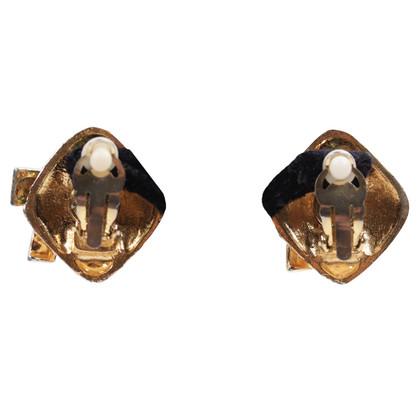 Chanel Metalen oorbellen
