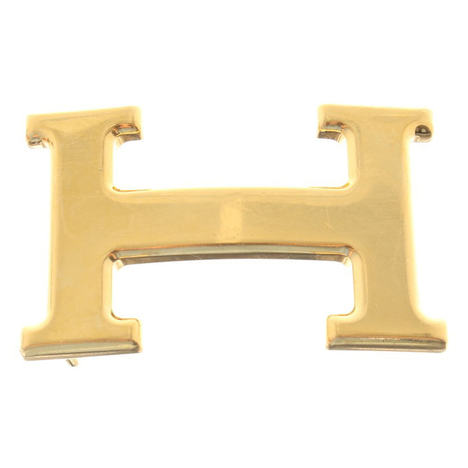 Hermès Gold color buckle