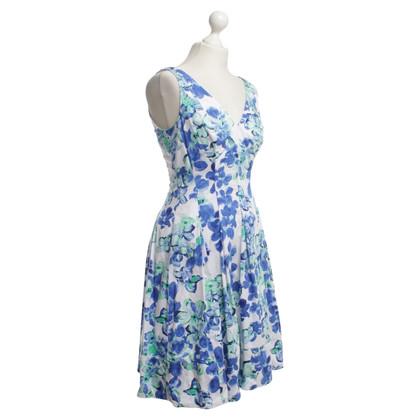 Ralph Lauren Sommerkleid in Blau/Weiß/Grün