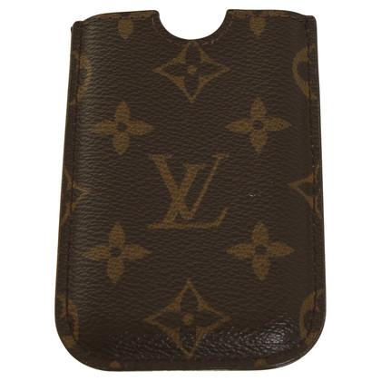 Louis Vuitton Mobiele telefoon geval met logo patroon