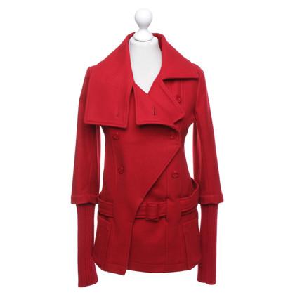 Patrizia Pepe Coat in red