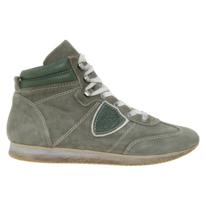 Philippe Model Sneakers in olive green