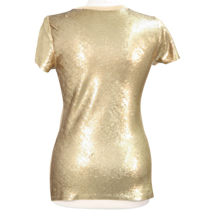 Michael Kors Sequin shell in gold