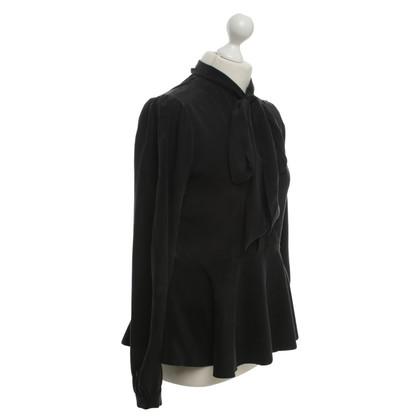 Sly 010 Silk blouse in black