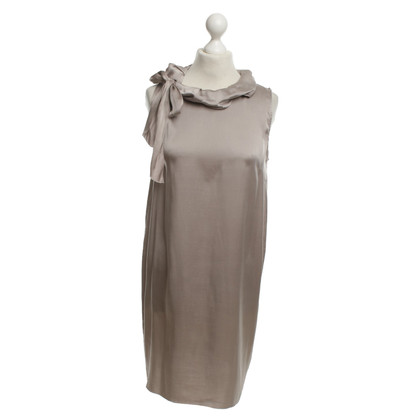 Hemisphere Dress in Taupe