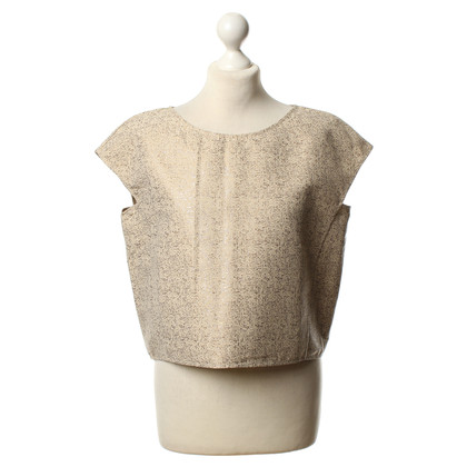 Max Mara Crop top in beige