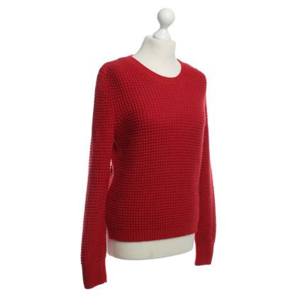 Marc Cain Red knit pullover