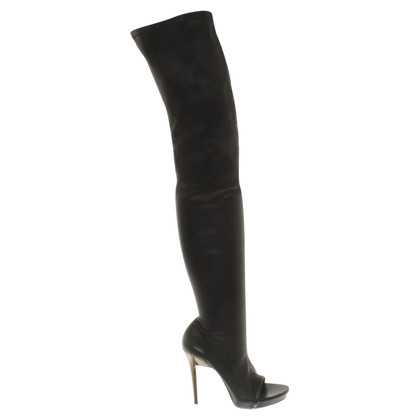 Plein Sud Knee boots in black