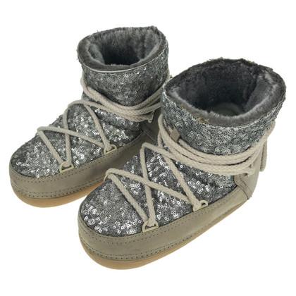IKKII Boots with sequin trim