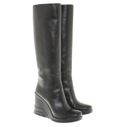 Prada Wedge Boots