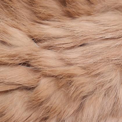 Marc Cain Rabbit fur hose scarf