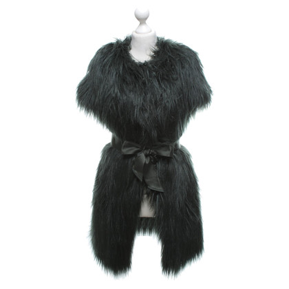 Armani Faux fur jacket in dark green