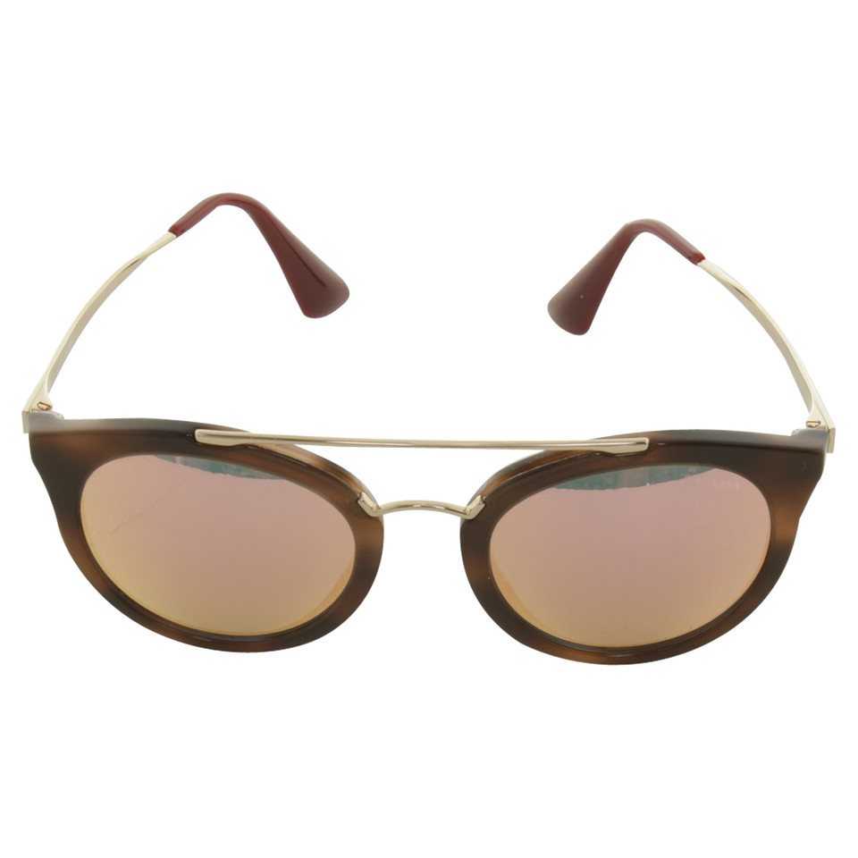sonnenbrille mit runden gl sern second hand prada sonnenbrille mit. Black Bedroom Furniture Sets. Home Design Ideas