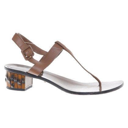Gucci Toe separator in brown