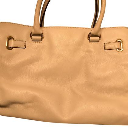 Michael Kors Beige soft leather bag