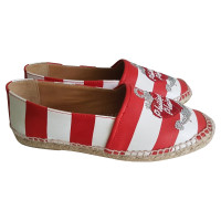 Philipp Plein Espadrille in red / white