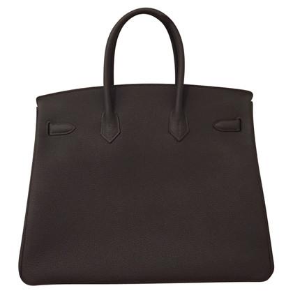"Hermès ""Birkin Bag 35 Togo Graphite PHW"""