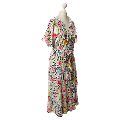 Cacharel Print wrap dress