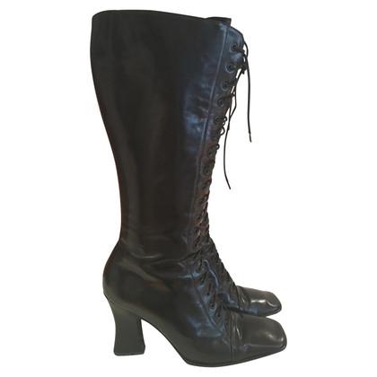 Prada Boots van Tall Lace-up