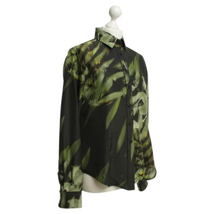 Pauw Blouse in black/green