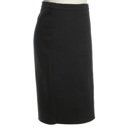 Lanvin skirt in dark blue