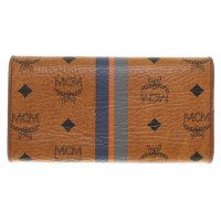 MCM Wallet with pattern