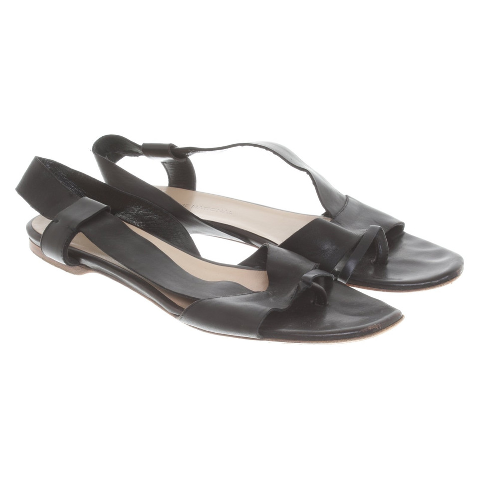 Costume National Sandals in black