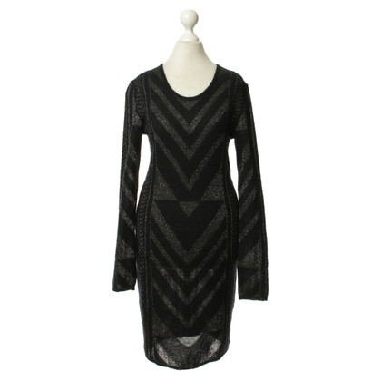 Lala Berlin Knit dress with metallic pattern