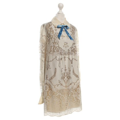 Anna Sui Lace dress in beige