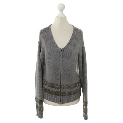 Iheart Strickjacke in Grau