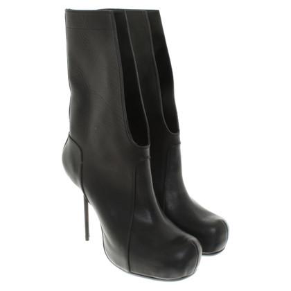 Rick Owens Platform laarzen in zwart