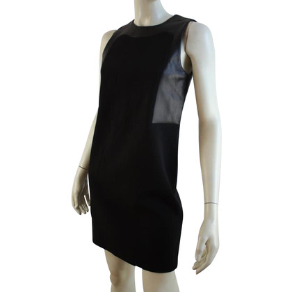 Michael Kors Kleid mit Lammleder-Details