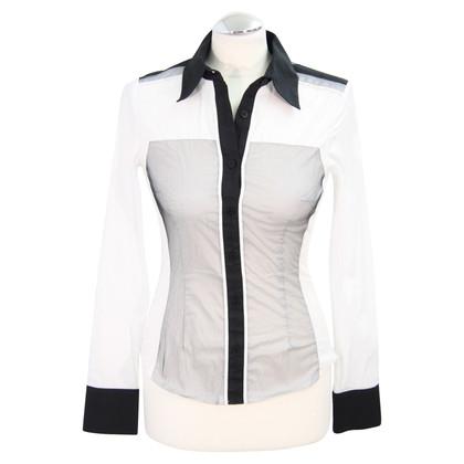 Karen Millen Blouse in black / white