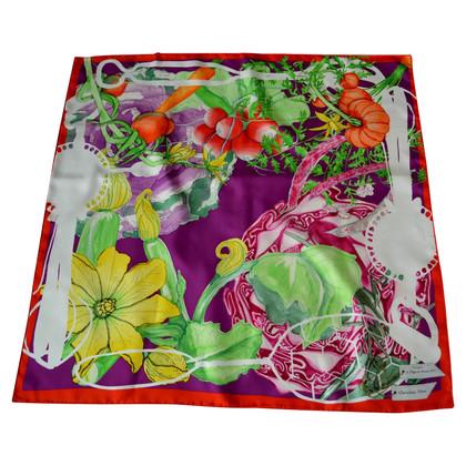 Christian Dior Zijden sjaal patronen
