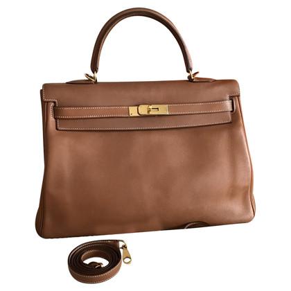 "Hermès ""Kelly Bag 32"" Barenia leder"