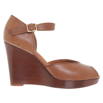 Céline Leather wedges