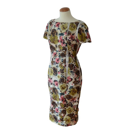 Thakoon Retro print silk dress