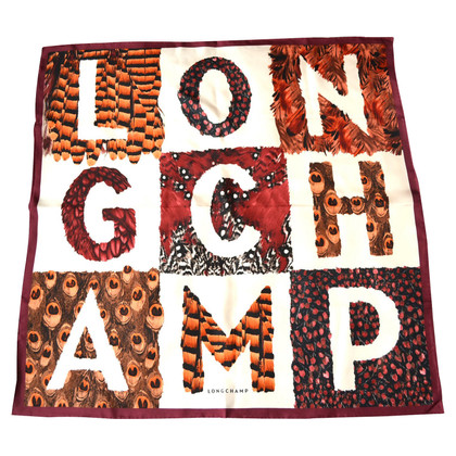 Longchamp Silk scarf with pattern