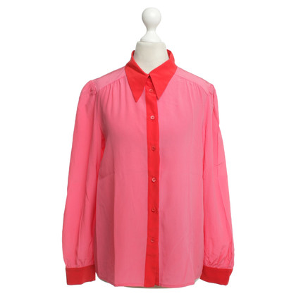 Missoni Silk blouse in pink