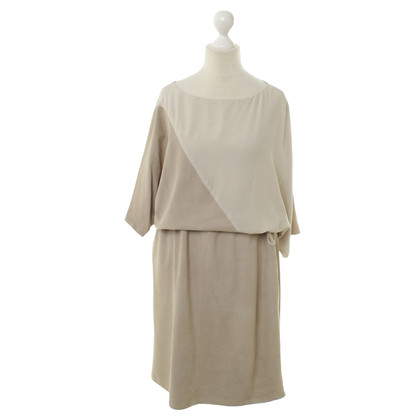Fabiana Filippi Suede and silk dress