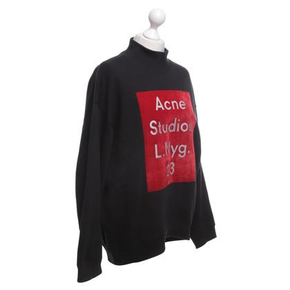 Acne Trui in zwart