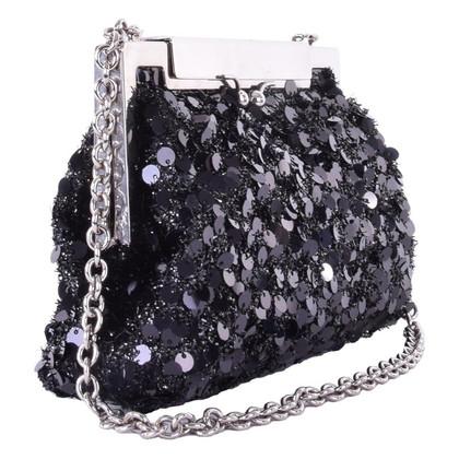 Dolce & Gabbana Pailetten clutch