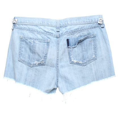 Rag & Bone shorts in denim distrutti