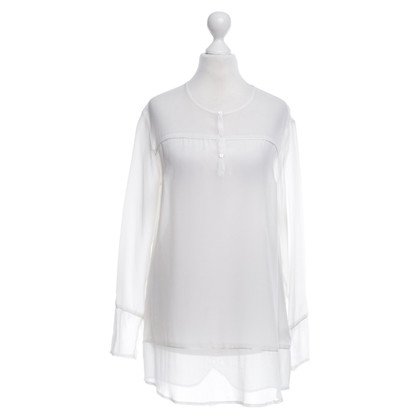 Lala Berlin Silk blouse in white