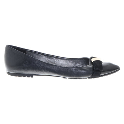 Navyboot Ballerinas in black