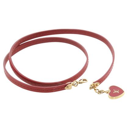 Louis Vuitton Wrap armband in Bordeaux