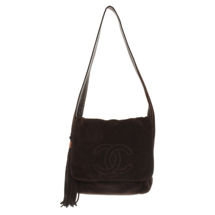 Chanel Shoulder Bag Suede