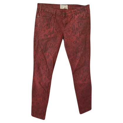 Current Elliott Jeans in Red
