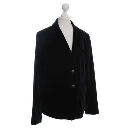 Barbour Blazer velours noir