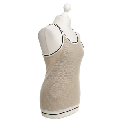 Sport Max Top made of mesh